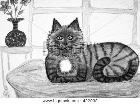 Casual Cat Original