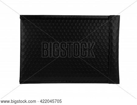 Padded Envelope With Bubble Wrap Isolated On White
