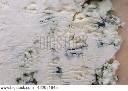 Smelly Blue Cheese With A Noble Mould Close-up