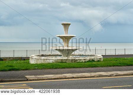 Ramsgate, United Kingdom - May 22, 2021: The Festival Of Britain Fountain Built In 1951  The Fountai
