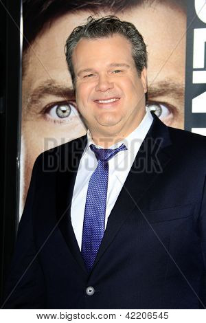 LOS ANGELES - FEB 4:  Eric Stonestreet arrives at the 'Identity Theft' premeire at the Village Theater on February 4, 2013 in Westwood, CA