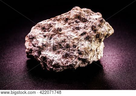 Chromite Ore, A Double Oxide Of Iron And Chromium, Is A Mineral Oxide Used As A Source Of Chromium F