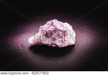 Lepidolite Ore Is A Mineral Of Phyllosilicates. It Is Part Of The Micas Group, Being A Secondary Sou
