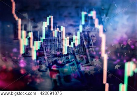 Data Analyzing From Charts And Graph To Find Out The Result In Trading Market.