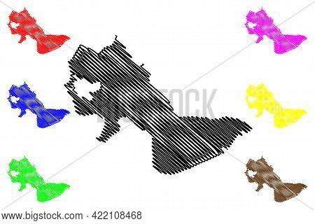 Cambridge City, Massachusetts (united States Cities, United States Of America, Usa City) Map Vector