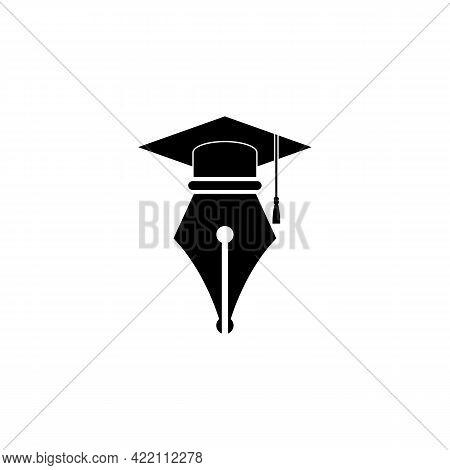 Illustration Vector Graphic Of Graduation Pen Logo