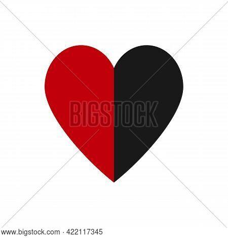 Illustration Vector Design Graphic Of Heart Logo