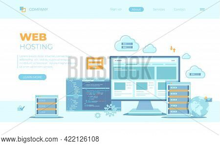 Web Hosting, Data Security, Сloud Computing Storage, Information Processing, Database. Hosting Serve