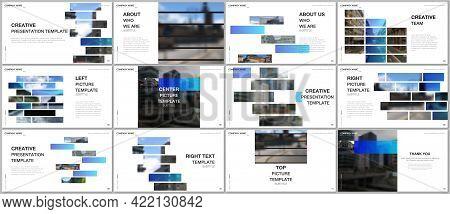 Presentation Design Vector Template, Multipurpose Template For Presentation Slide, Flyer, Brochure C