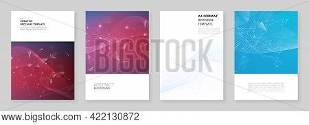A4 Brochure Layout Of Covers Design Templates For Flyer Leaflet, A4 Brochure Design, Report, Present