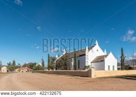 Amalienstein, South Africa - April 6, 2021: The Historic Lutheran Mission Church In Amalienstein In
