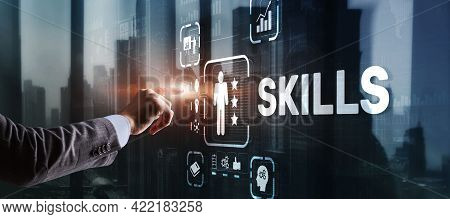 Skills Learning Personal Development Finance Competency Business Concept