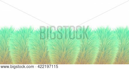 Abstract Fur Texture With Blend Effect For Background Vector Illustration Fur Pattern