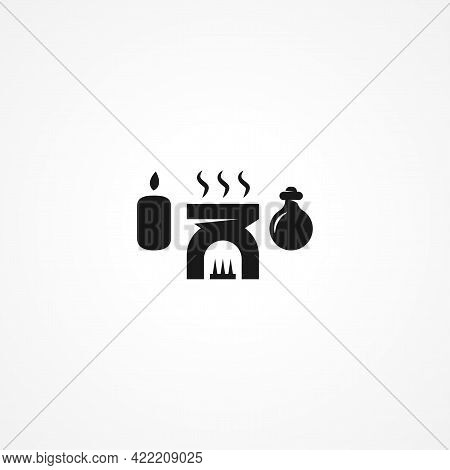 Aromatherapy Simple Isolated Vector Icon. Aromatherapy Simple Isolated Vector Icon. Aromatherapy Sim