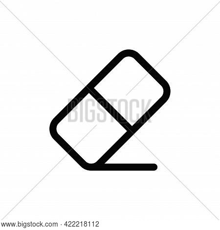 Eraser Icon Isolated On White Background. Eraser Icon In Trendy Design Style For Web Site And Mobile