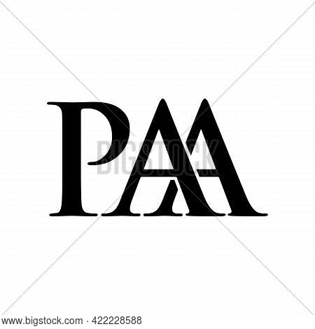 Illustration Vector Graphic Of Logo Letter Paa