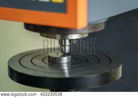 Machine For Testing Metals For Strength And Deformation In Laboratory At Metallurgical Plant.