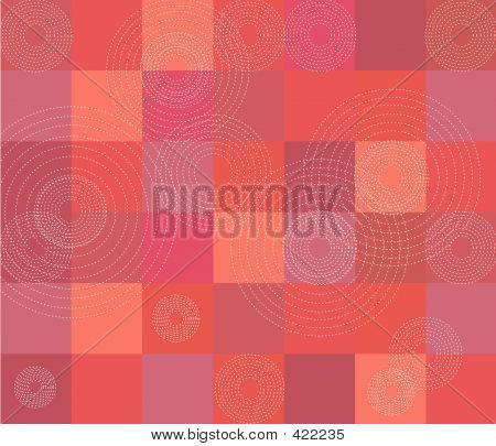 Red Quilt Pattern