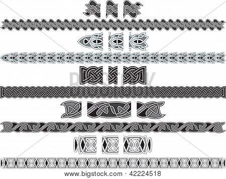 Seamless Celtic Patterns