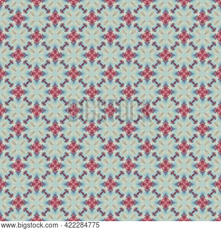 Color Pattern Texture. Colorful Ornamental Graphic Design. Mosaic Ornaments. Pattern Template.