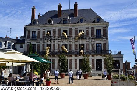 Blois - France - May 15, 2016: The House Of Magician Robert-houdin Is A Famous Museum Of The Magic A