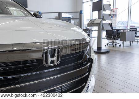Kokomo - Circa May 2021: Honda Accord Display. The Honda Accord Is One Of The Top 25 Cars Sold In Th