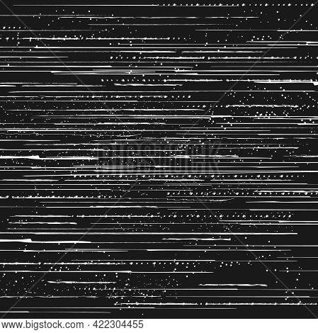 Tv Signal Loss Glitch, Screen Pixels Noise Or Video Data Error Effect. Broken Monitor, Program Bug O