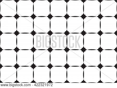 Seamless Abstract Pattern Background. Simplicity Ornate. Vector Illustration Texture