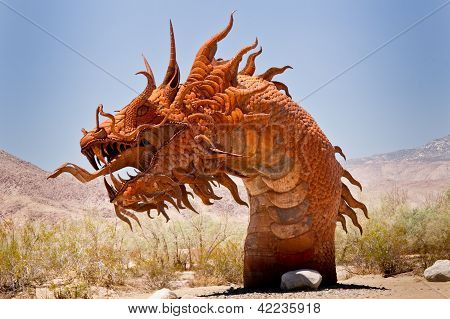 Snarling Desert Serpent
