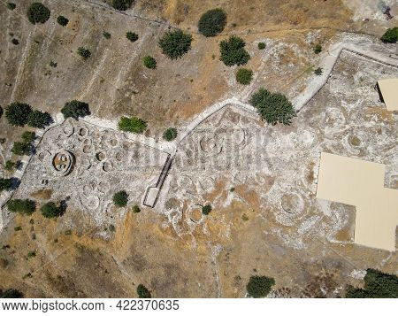 The Neolithic Settlement Of Choirokoitia On Cyprus Island