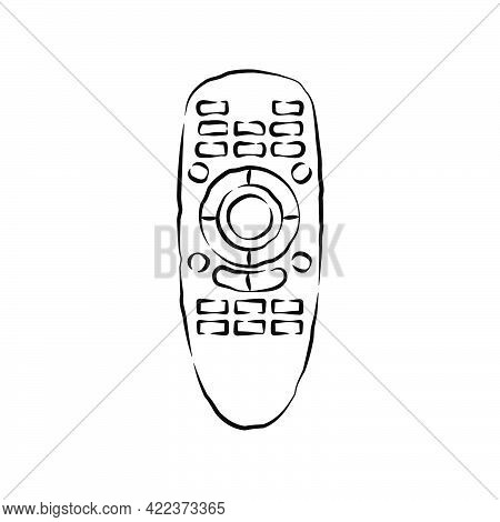 Hand Remote Control. Multimedia Panel With Shift Buttons. Program Device. Wireless Console. Sketch O