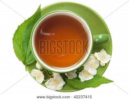 Cup Of Jasmin Tea
