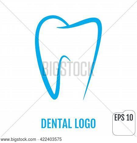 Dental Logo. Dental Clinic Icon Design. Tooth Template Vector Illustration.