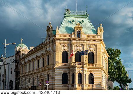 Embassy Of Austria Building In Belgrade, Capital Of Serbia On May 29, 2021. Austrian Diplomatic Serv