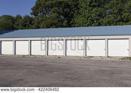 Self Storage And Mini Storage Garage Units.