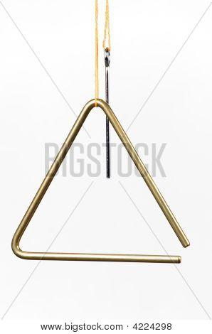 Triangle Isolated On White
