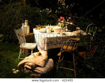 Whimsical Outdoor Picnic