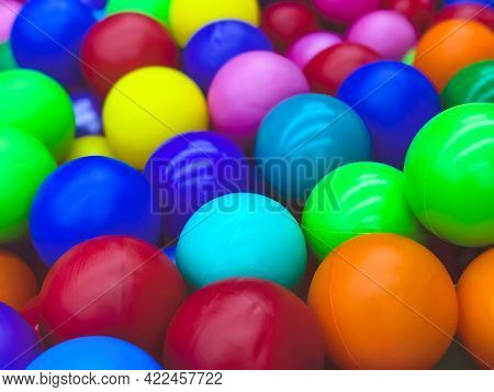 Bright Multi-colored Balls For The Pool For Childrens Games.toys For Children,entertainment For Kids
