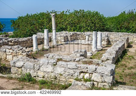 Remains Of So Called 'basilica Within Basilica' Church. It Was Founded Vi Ad. After 10th Century Chu