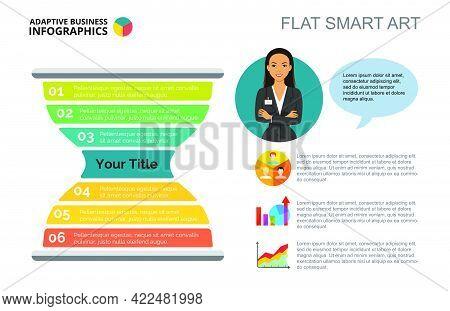 Sandglass Chart. Metaphor Diagram, Graph, Layout. Creative Concept For Infographics, Presentation, P