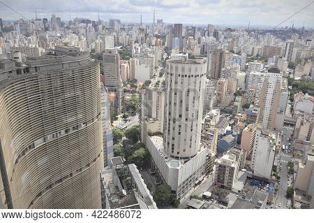 View Of Buildings In Sao Paulo, Brazil