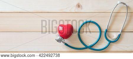 Heart Health Problem, Coronary Artery Heart Defects And Cardiac Disease Health Care Service With Med