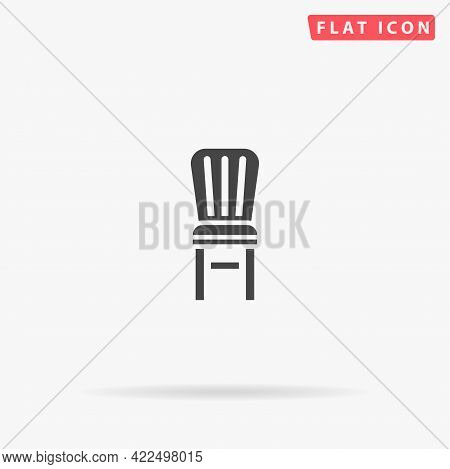 Stool, Chair Flat Vector Icon. Hand Drawn Style Design Illustrations.