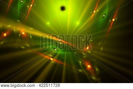 Digital Illustration Abstract Image Generated Fractal Background Image Wallpaper Pattern Of Various