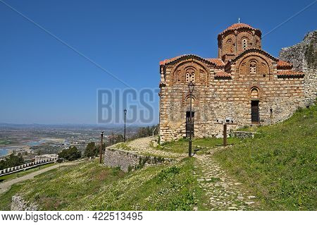 Holy Trinity Church In Berat From The Backside