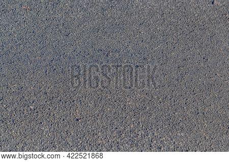 Close Up Of An Asphalt Paved Driveway
