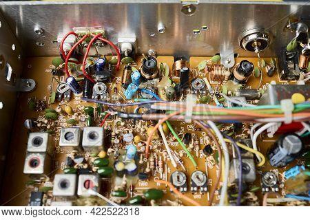 Ruta Das Cunchaspower Transistors Of A Cb Radio Station