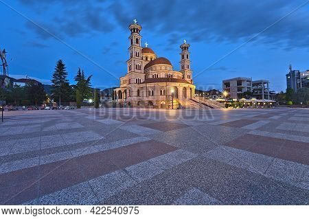 The Resurrection Of Christ Cathedral Of Korca