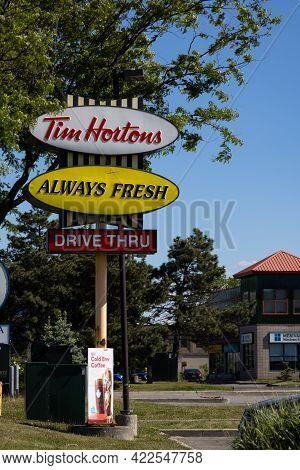 Ottawa, Ontario, Canada - May 31, 2021: A Classic \