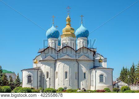 Annunciation Cathedral Of Kazan Kremlin Is The First Orthodox Church Of The Kazan Kremlin.